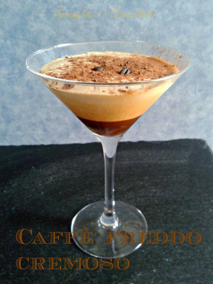 vaniglia e cioccolato: Caffè freddo cremoso