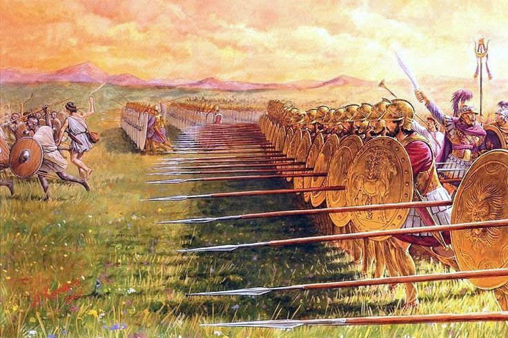 Ejemplo de Falange cartaginesa.
