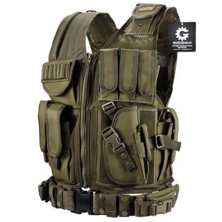 Loaded Gear Tactical Vest VX-200 (OD Green) - Tactical Vests - Loaded Gear