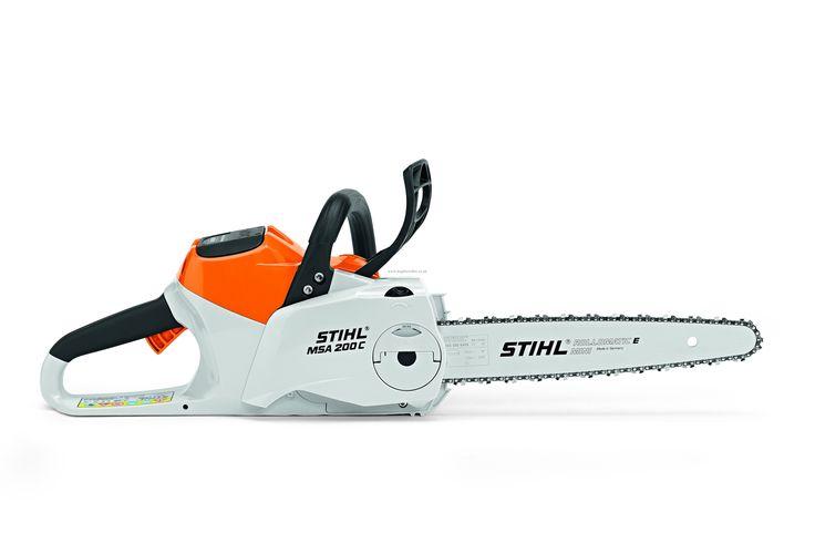 """Stihl MSA200 C-BQ 14"""" Cordless / Battery Chainsaw"""
