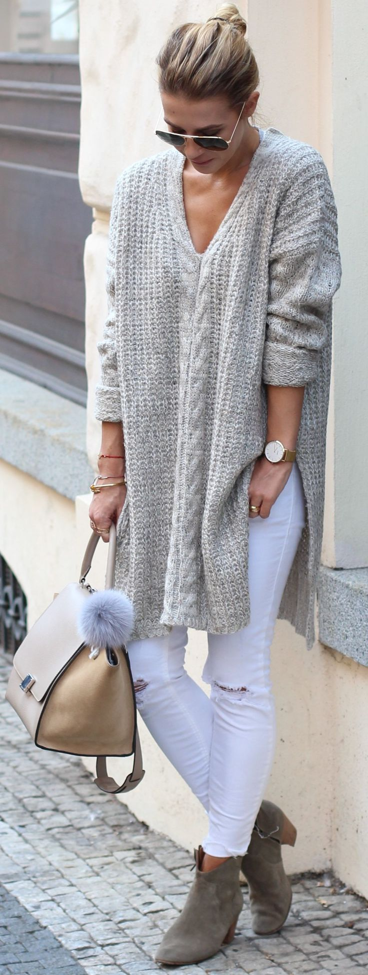 Isabel Marant Booties Fall Streetstyle Inspo by Czech Chicks #bootie