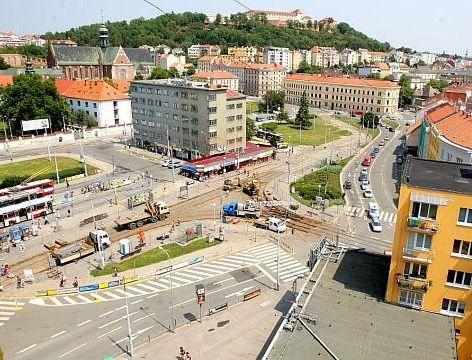 Mendlovo náměstí - Brno