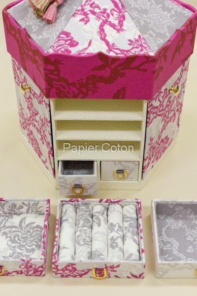 Papiekoton - ♪ Ce travail a été inspiré par des accessoires cas merry-go-round hexagonale