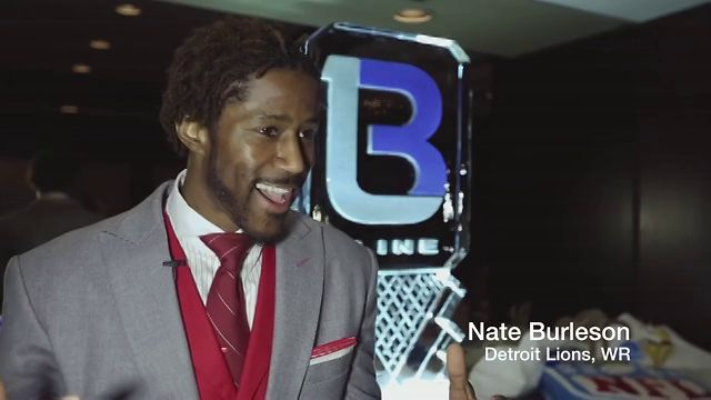 Nate Burleson's Celebrity Server Night 2012 by Zara Creative. The Nate Burleson Foundation, Detroit Lions, charity event, bartenders, servers, Nate Burleson, giving back, Detroit youth, football, Heather Zara, videography, cinematography, www.zaracreative.com