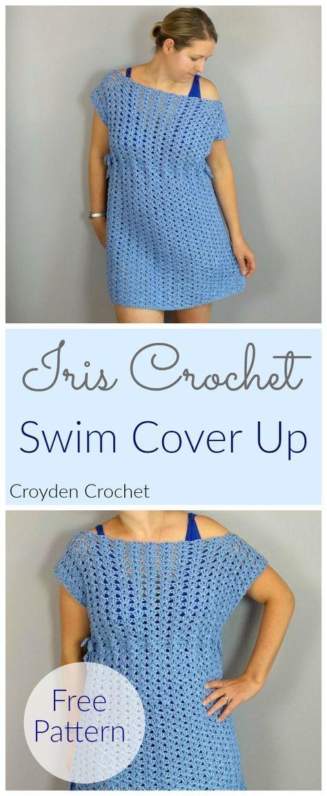 Iris Swim Crochet Cover Up A Free Pattern By Crochet Patterns