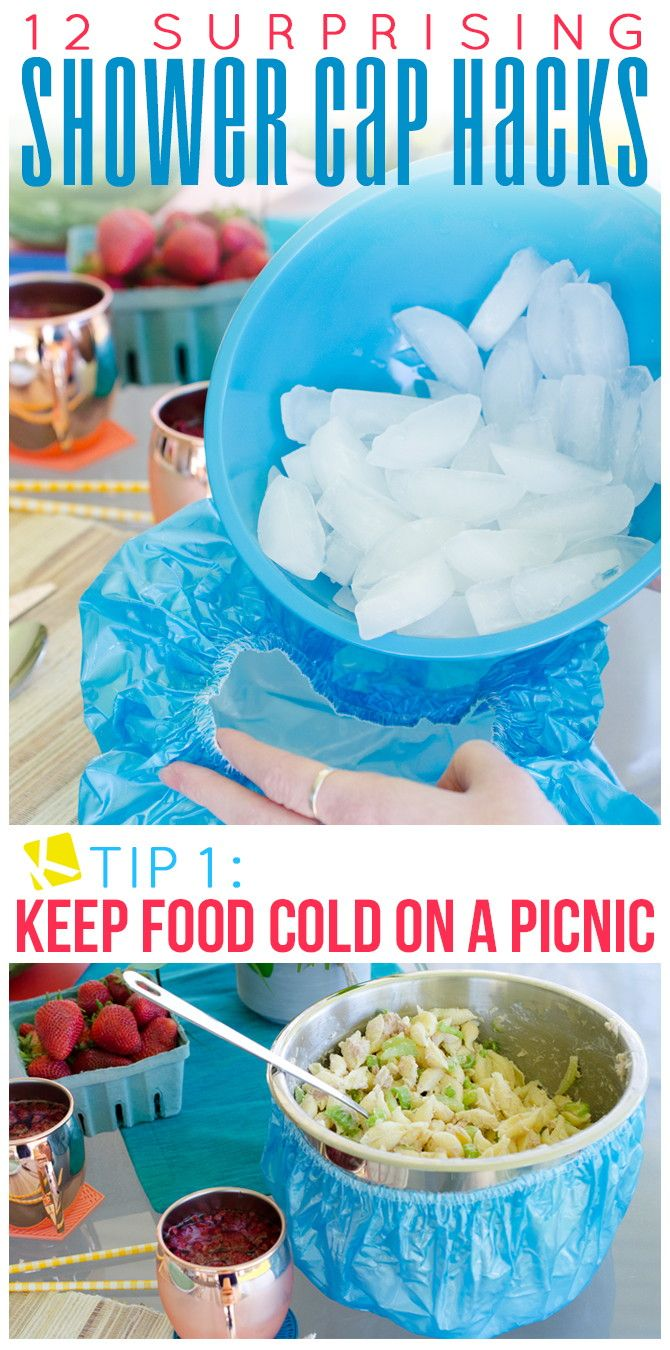 1. Keep food cold on a picnic.