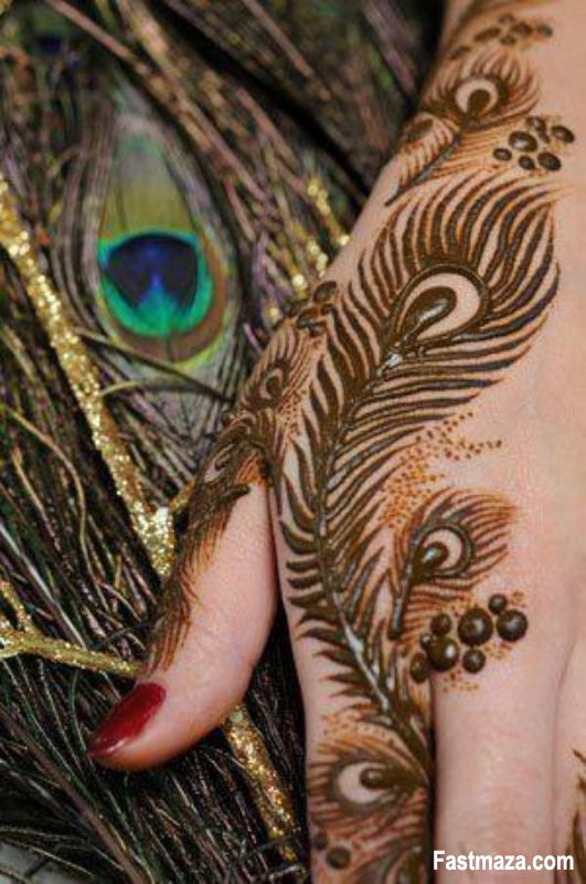 Peacock Henna Designs | ... mehndi designs 2013 for eid bridal mehndi designs collection 2013