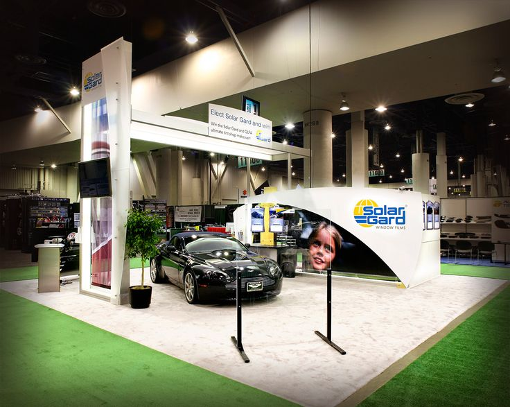 Stylish Exhibition Stand Design for Solargard during its participation in Sema Show at USA. Know about us at http://www.expodisplayservice.ae/