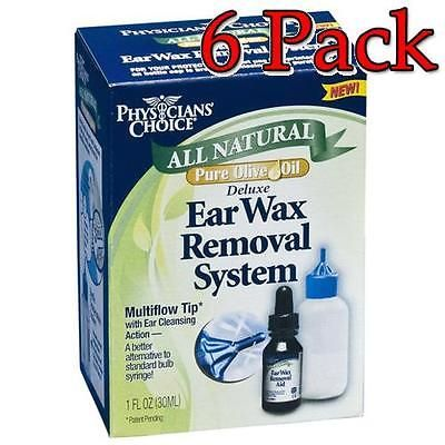 Ear Plugs: Physician S Choice All Natural Ear Wax Removal, 1Oz, 6 Pack 031046605065T535 -> BUY IT NOW ONLY: $59.49 on eBay!