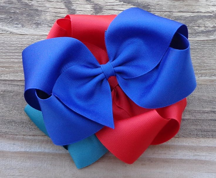 Set of 3 Big Hair Bows~Christmas Hair Bow~M2M Matilda Jane Bow~Big Hair Bow~XL Boutique Bow~Boutique Hair Bow~Big Bow~Christmas Bow~Hair Bow by LizzyBugsBowtique on Etsy
