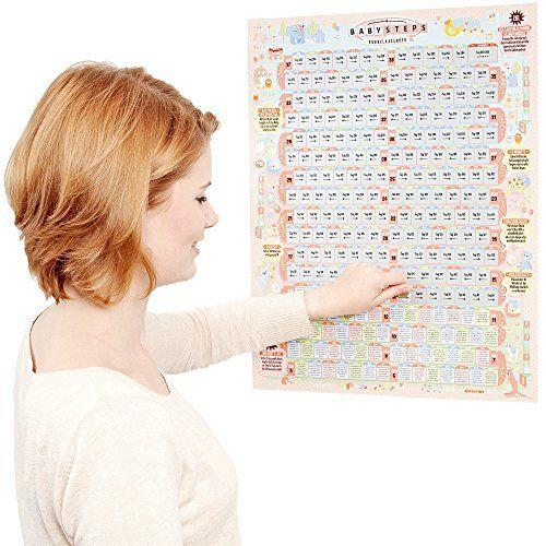 Der Rubbelkalender zur Schwangerschaft begleitet die Entwicklungsschritte in der Schwangerschaft und mit erstaunlichen Infos und Tipps. Ein liebevoll gestalteter täglicher Ratgeber und Begleiter.
