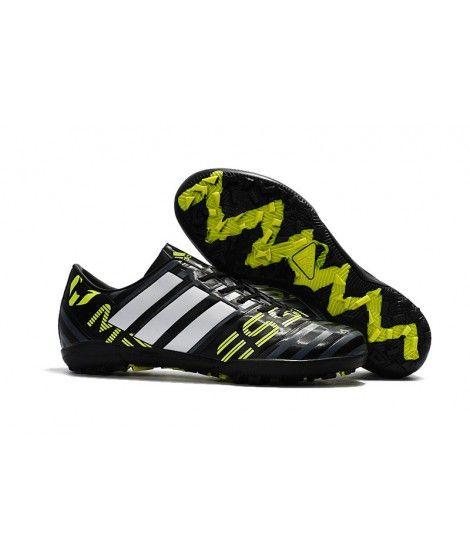 Adidas Messi Nemeziz 17.1 TF Suola Per Erba Sintetica Scarpe Da Calcio Nero Giallo