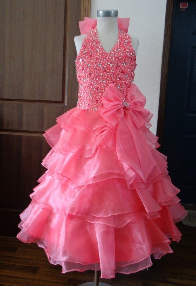 Girl's Pageant Dress