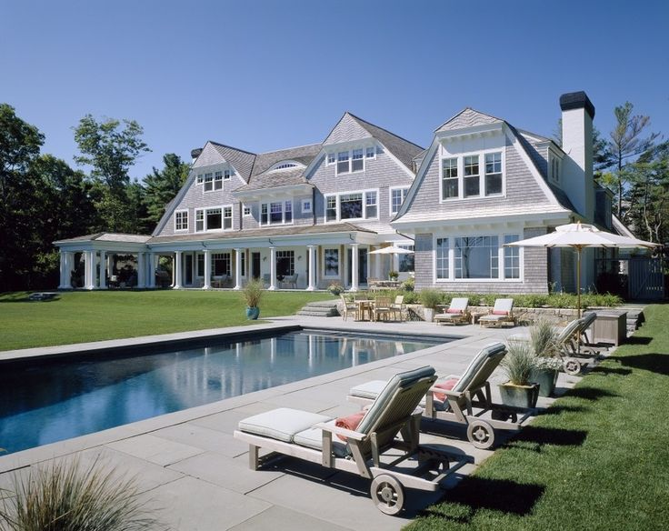 Cool Dutch Colonial convention Other Metro Victorian Pool Innovative Designs with balcony bluestone Eyebrow Dormer grass lounge chair Patio Pool Porch shingle style shingles stone