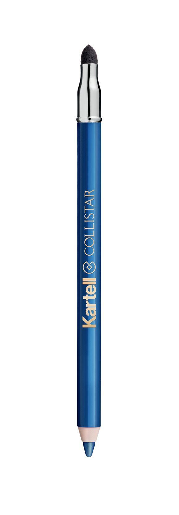Matita Professionale Occhi N° 16 Blu Shanghai#Collistar #beauty #italy #Kartell #design #Trasparenze #Transparency #2015 #makeup #matita #pencil #occhi #eyes #blu #blue