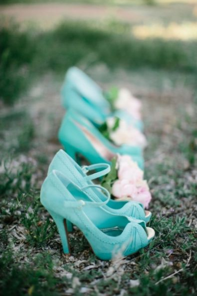 #Turquoise shoes