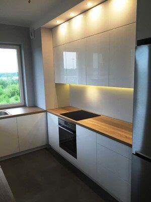 Meble kuchenne na wymiar Warszawa Mokotów - Laviano Kuchnie i wnętrza
