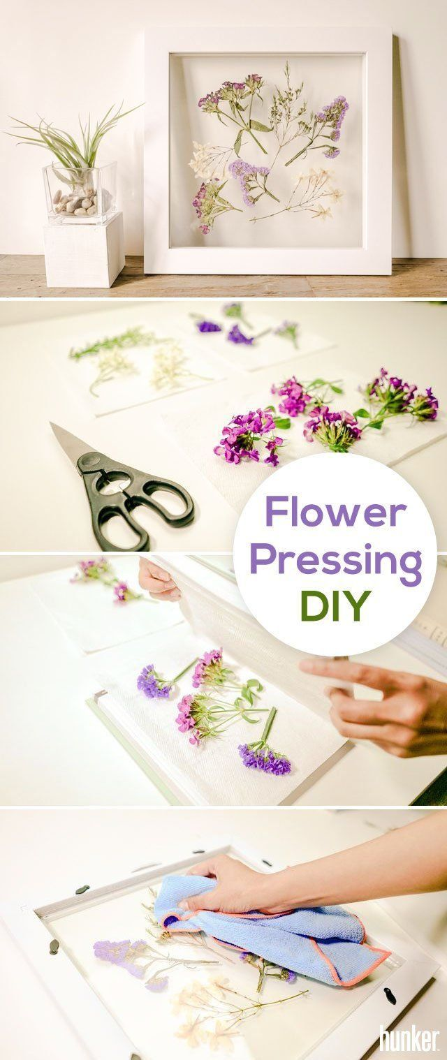 Flower Pressing DIY: How to Preserve Blooms in a Minimalist Frame