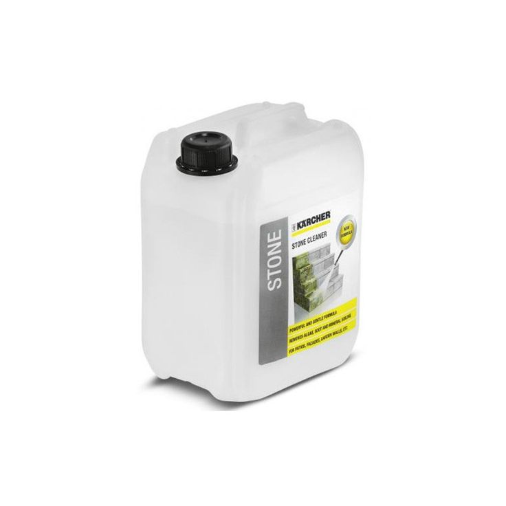 Karcher stone and facade cleaner cleaning detergent is specifically designed to assist in the cleaning of stone and aluminium facades, stone terraces and other stone surfaces.