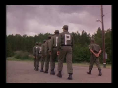 """""""Cadence"""" (1990) - """"Soul Patrol"""" marching sequence [starring Martin Sheen, Charlie Sheen, Lawrence Fishburne, F. Murray Abraham. Directed by Martin Sheen]"""