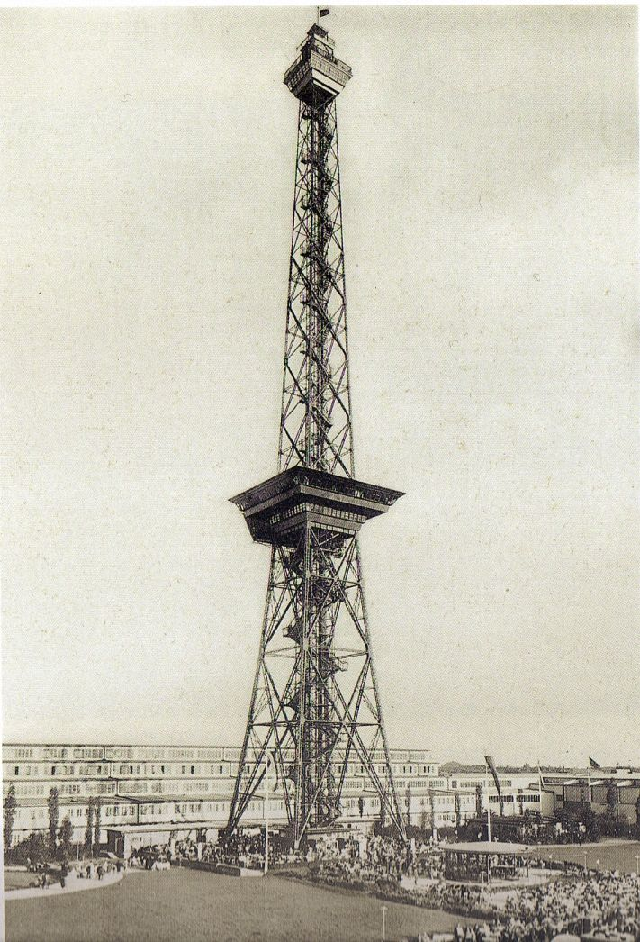 Berlin Funkturm Der Lange Lulatsch 1930 Fotograf Unbekannt