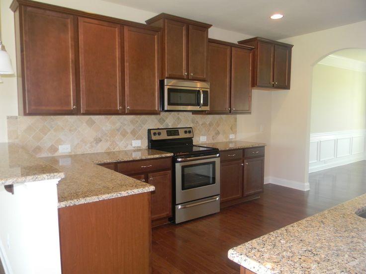 Fairfield Maple Nutmeg Kitchen Cabinets