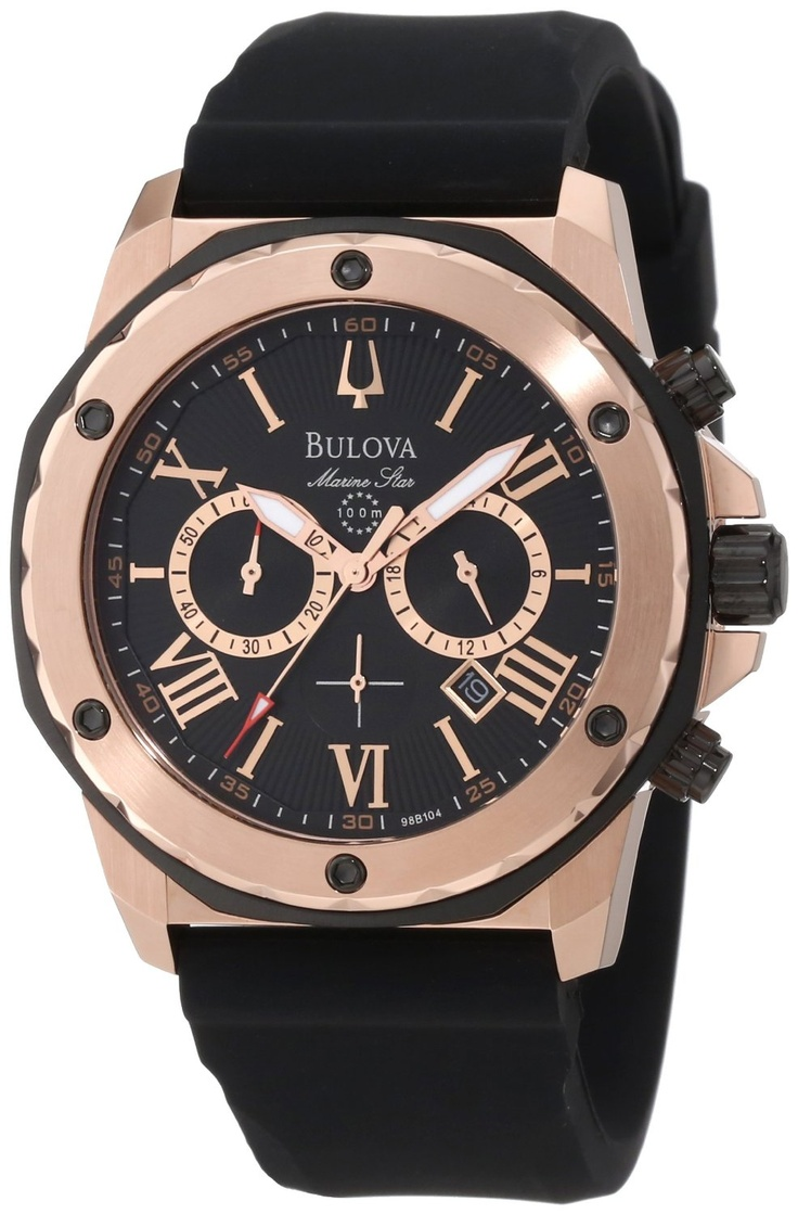 Bulova Men's 98B104 Marine Star Calendar Watch