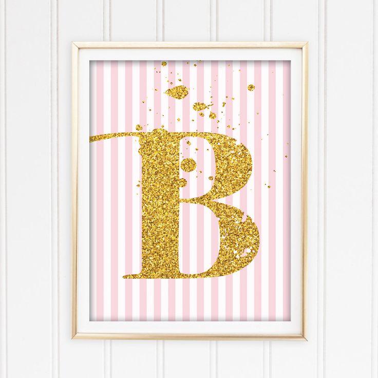 Un favorito personal de mi tienda de Etsy https://www.etsy.com/es/listing/541559686/letter-b-printable-art-for-baby-girl