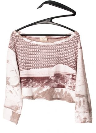 Painted Sweater . mariaDovale . fashion design . scar-id store