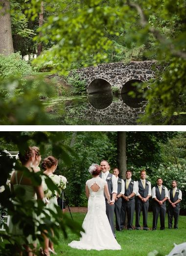 Peninsula Location, Dow Gardens Wedding Ceremony, Midland