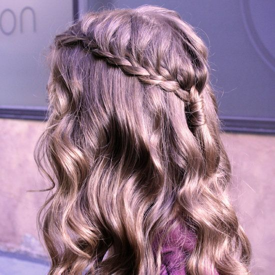 4 EASY STEPS TO THIS GORGEOUS CASCADING BRAID: French Braids, Waterfalls Braids, Hairstyles, Waterf Braids, Cascade Braid, Hair Stylesbeauti, Cascading Braids, Easy Step, Gorgeous Cascading