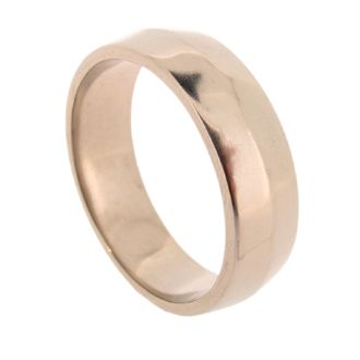 Wide Coco gents ring 18ct white gold