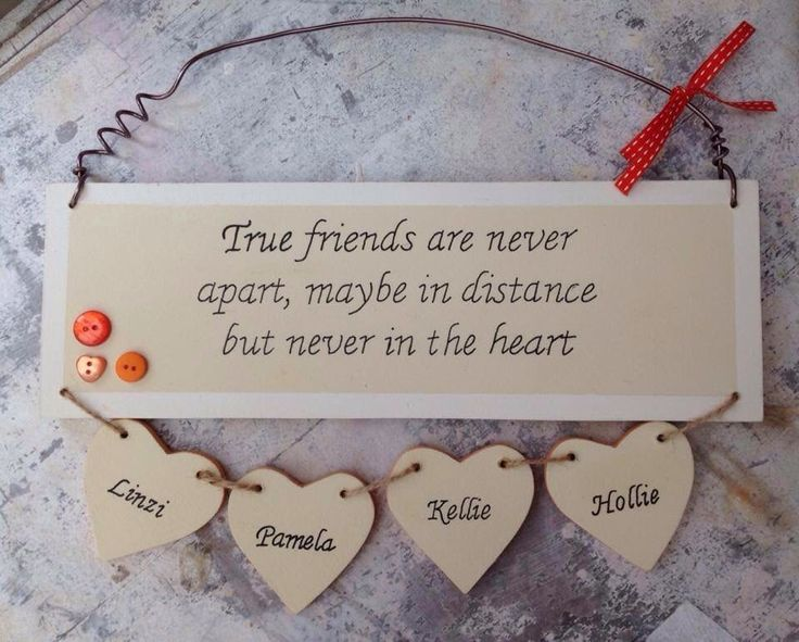 Celebrating friendship, plaque, handmade, personalised, wooden friend, cousin plaque. Perfect gift by MyWoodenWishes on Etsy https://www.etsy.com/uk/listing/499799672/celebrating-friendship-plaque-handmade