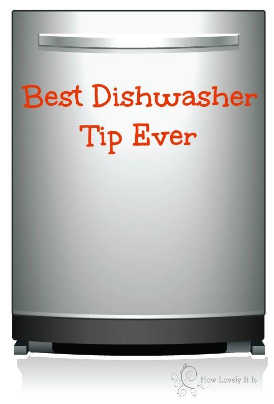 Best dishwasher tip ever