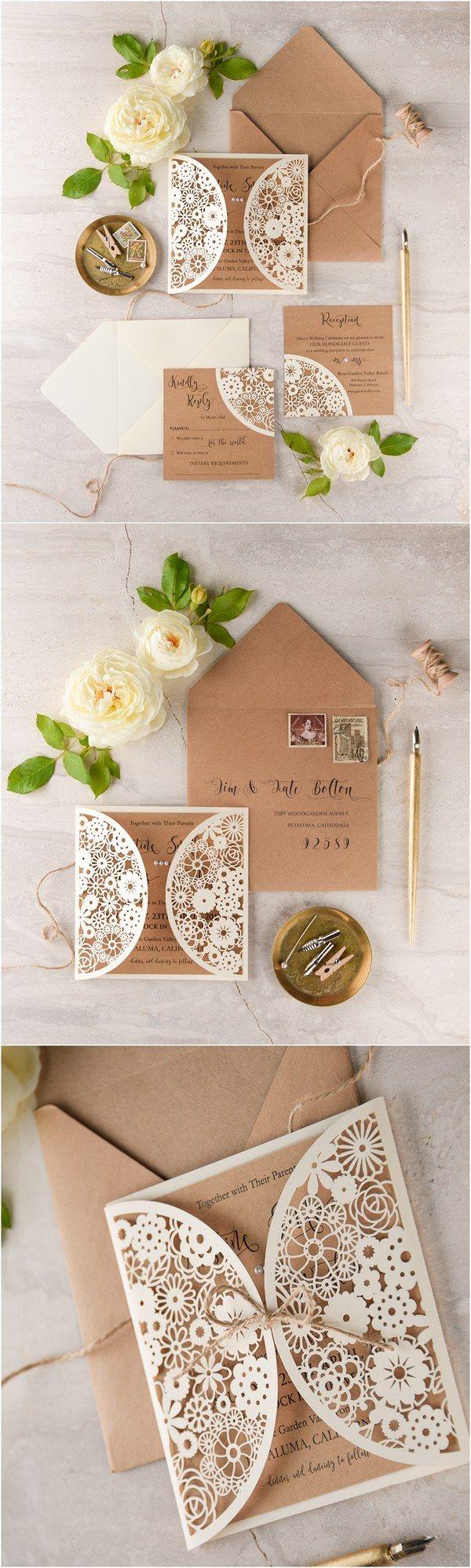 best wedding card manufacturers in delhi%0A We Love  Laser Cut Wedding Invitations   lovepolkadots