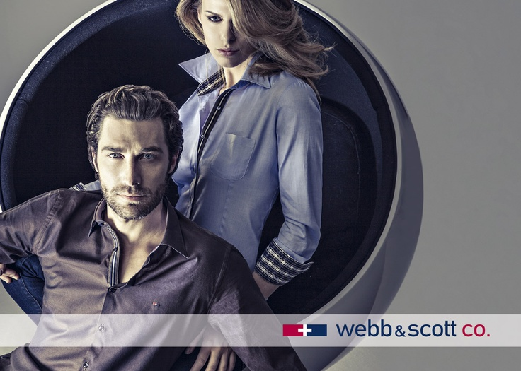 Webb & Scott shirts: Casual and Classy at the same time, now available on Kamiceria.com!    Discover them now: http://www.kamiceria.com/brands/shirts-webb-scott.html?utm_source=pinterest