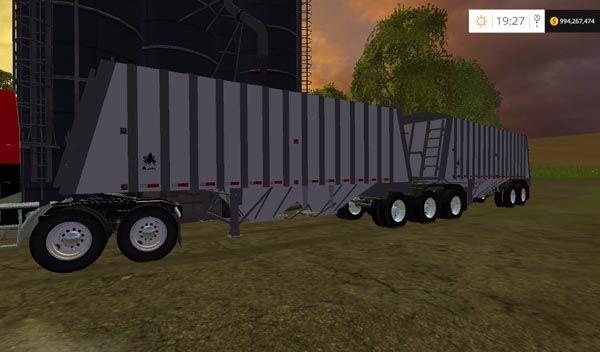 Merrit Super B Grain Trailers