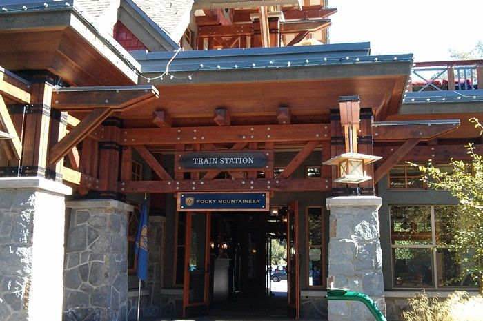 Rocky Mountaineer Hotel and Terminal, Whistler BC