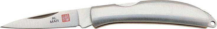 Al Mar Osprey Brushed Stainless Steel Front Lock AM1001SS - $90.45 #Knives #AlMar