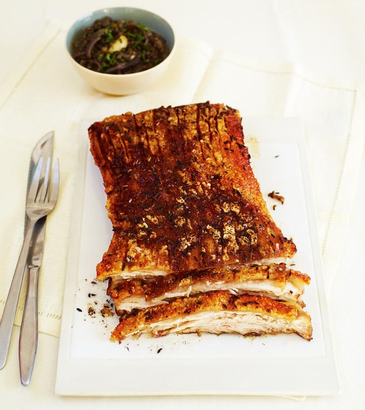 slow roast pork belly