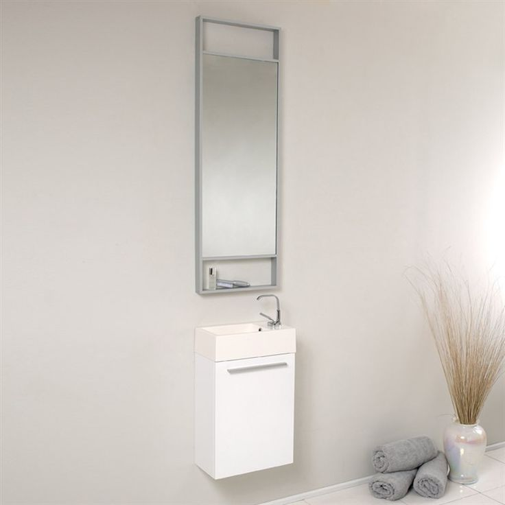 Fresca Bath FVN8002 Pulito Small Modern Bathroom Vanity  Part of the Senza Collection by Fresca Bath  Be the first to write a review    List Price$531.19Low Price GuaranteePrice$439.00 + Free Shipping In StockYou Save$92.19