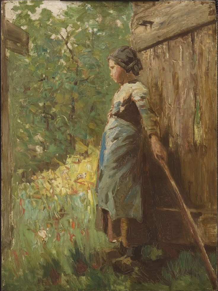 Goose Girl, 1882, Anton Mauve, Dutch