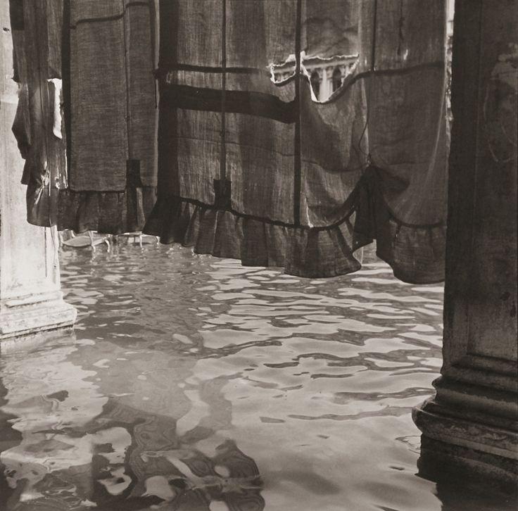 Bruce Cratsley (1944-1996)  Curtain, St. Mark's Square (Alta Aqua), Venice, 1980-1981
