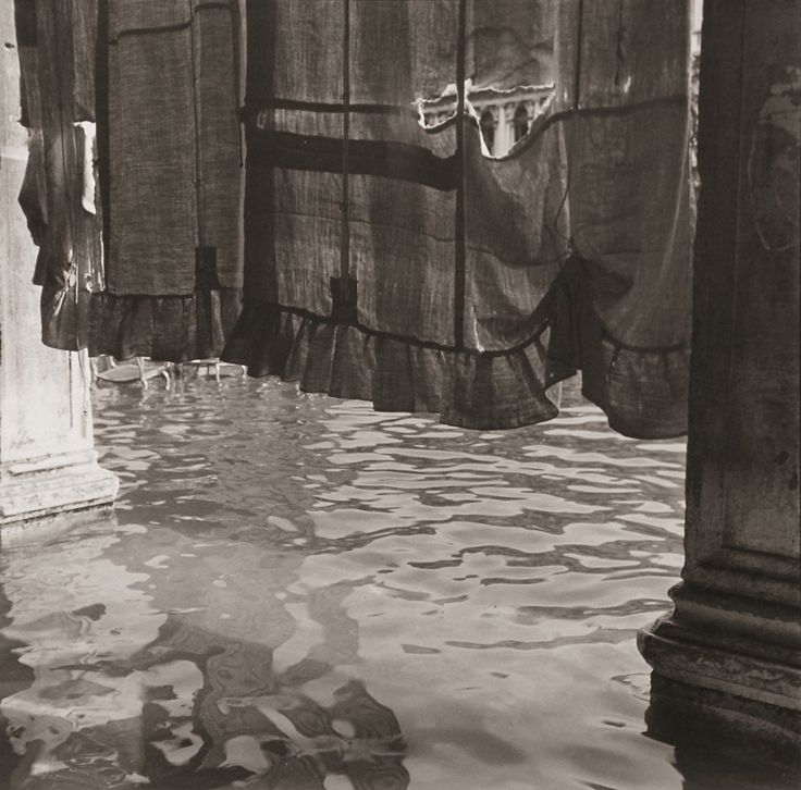 Bruce Cratsley (1944-1996)  Curtain, St. Mark's Square (Alta Aqua), Venice, 1980-1981