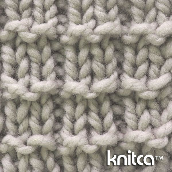 Knit And Purl Stitch Library : 17 beste afbeeldingen over KNITTING - Stitches op Pinterest - Gerstekorrel, S...