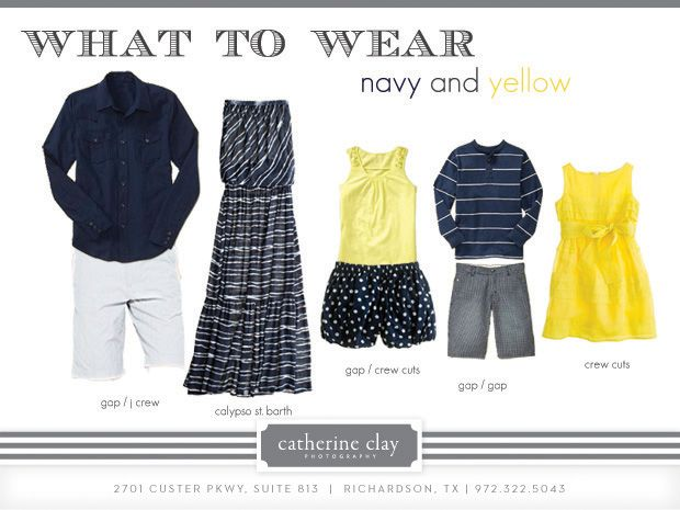 What to wear, summer family photos