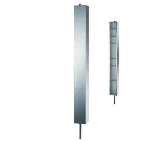Spejldrejeskabe - smarte drejeskabe med spejlfront til badeværelset