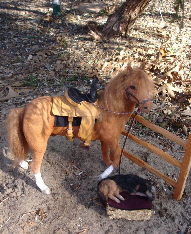 1:12 scale OOAK horse.