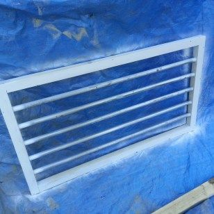A basement window repair led to tighter security. I build and install a set of DIY Security Bars for a window.