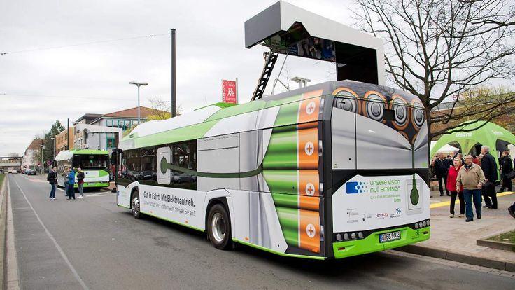 Fahren in der Nische: Elektrobusse bleiben Randerscheinung
